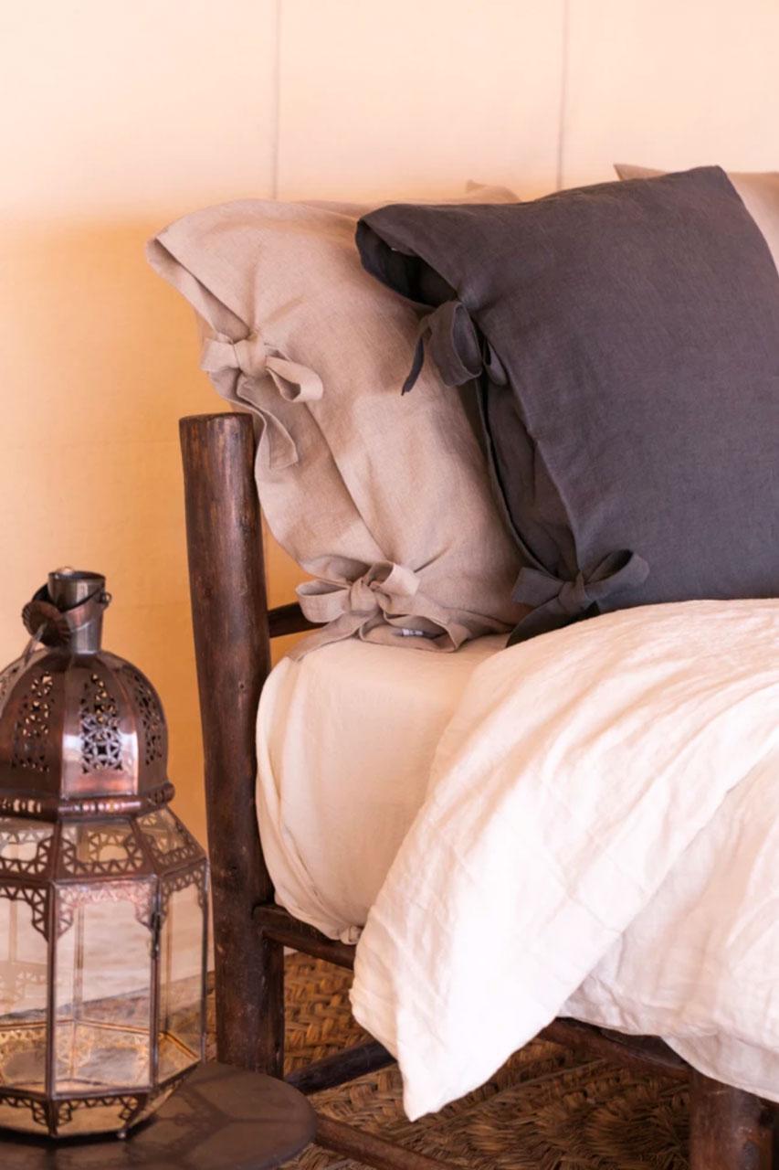 Verdade, une jeune marque de décoration engagée | LR architectes - photo produit housse d'oreiller