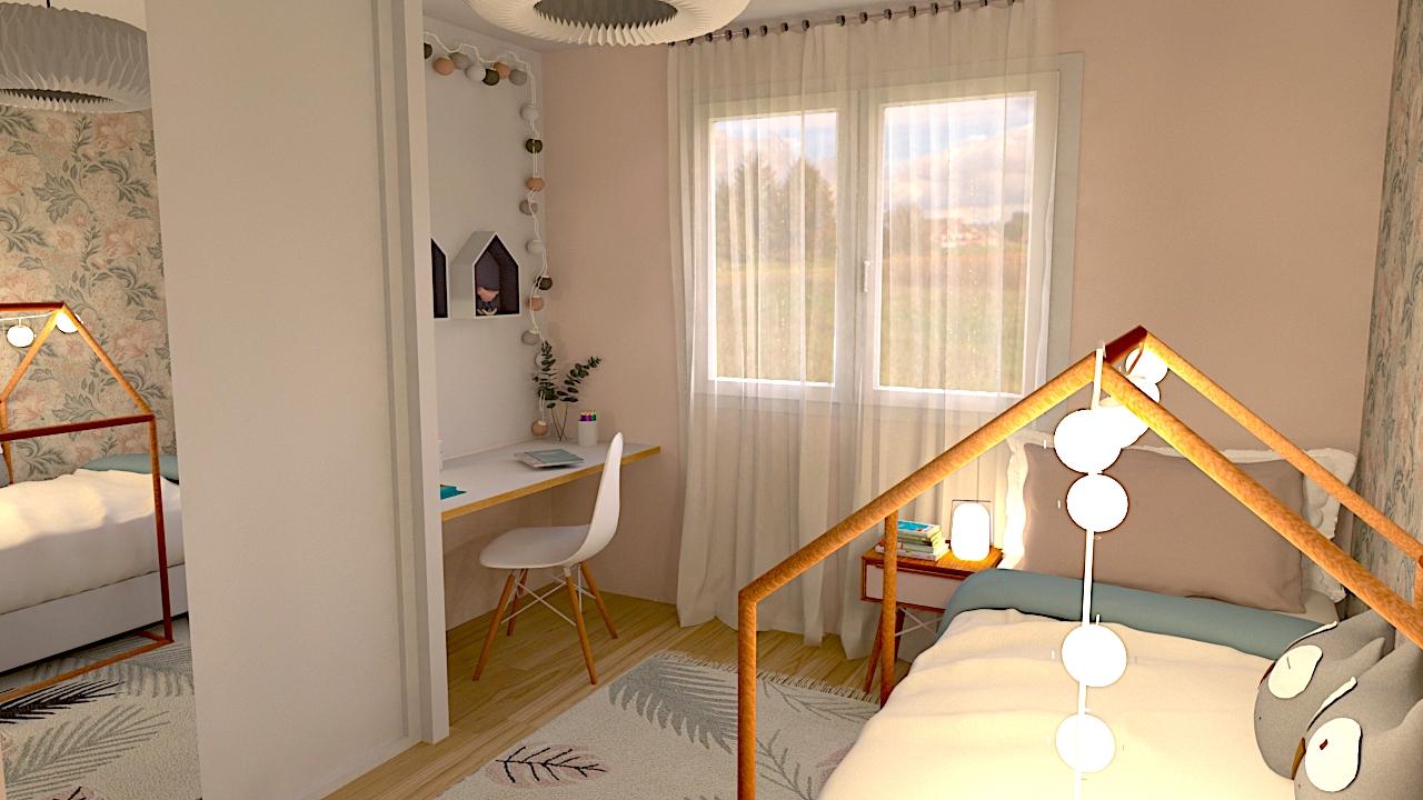image du t4 au t5 chambre enfant 4 LR Architectes