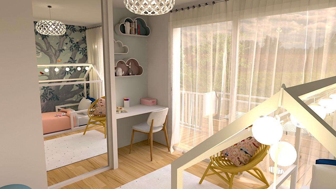 image du t4 au t5 chambre enfant LR Architectes