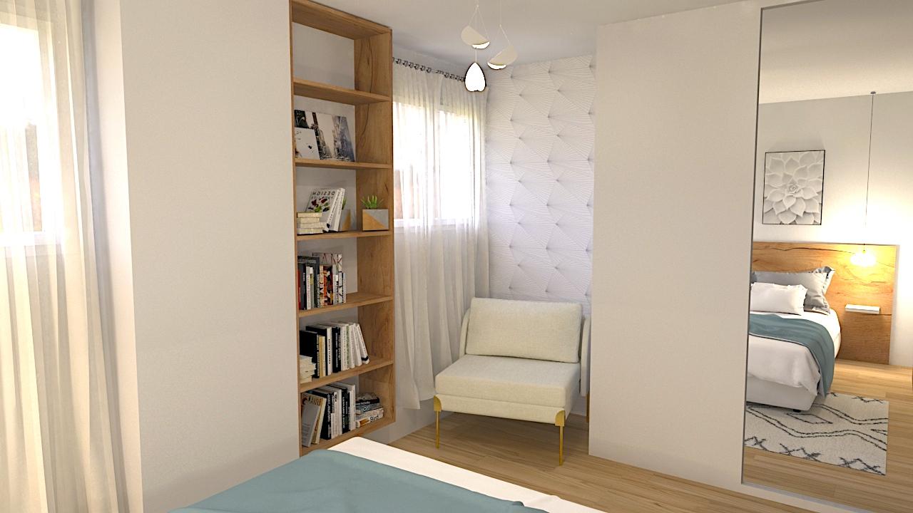 image du t4 au t5 bibliothèque chambre LR Architectes