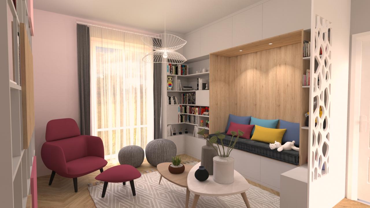 image salon de thé bibliothèque une demeure exceptionnelle