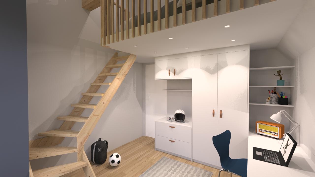 image mezzanine une demeure exceptionnelle
