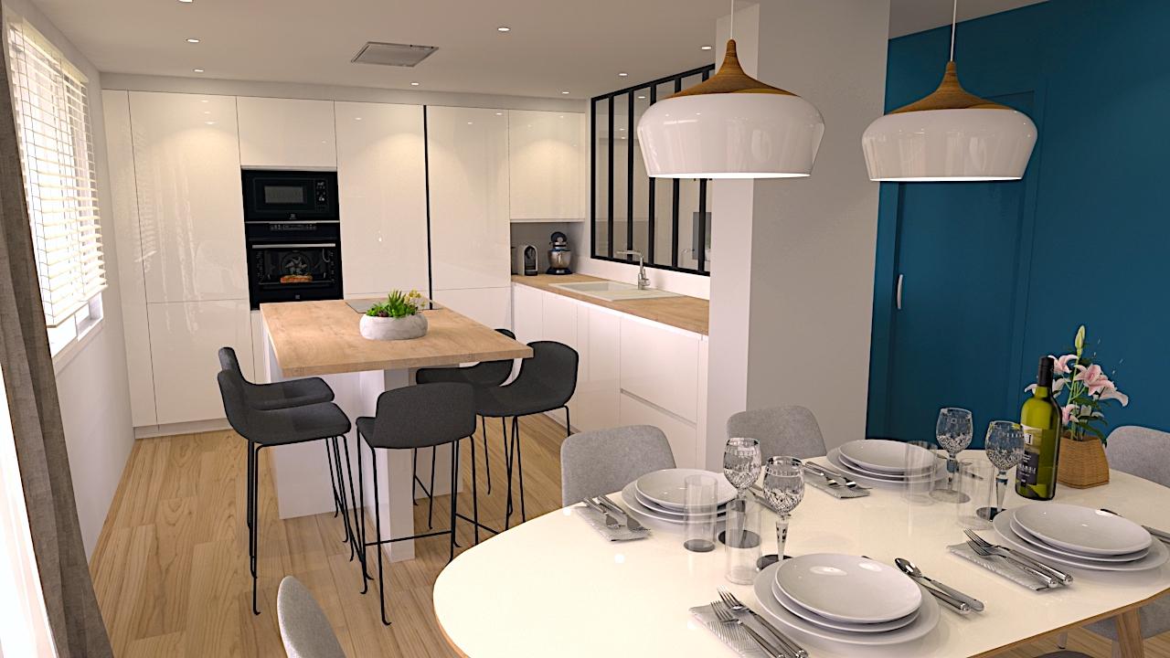 image du t4 au t5 cuisine 2 LR Architectes