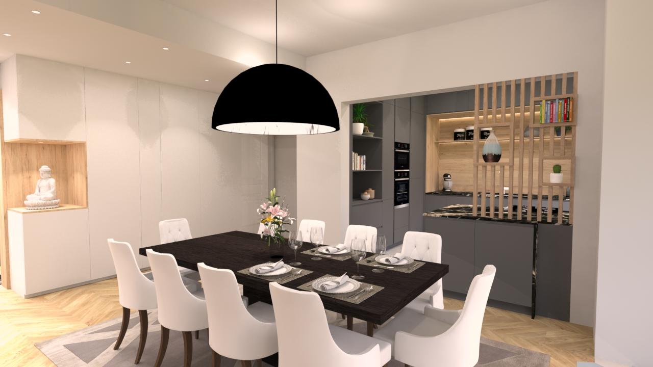 image salle à manger cuisine une demeure exceptionnelle