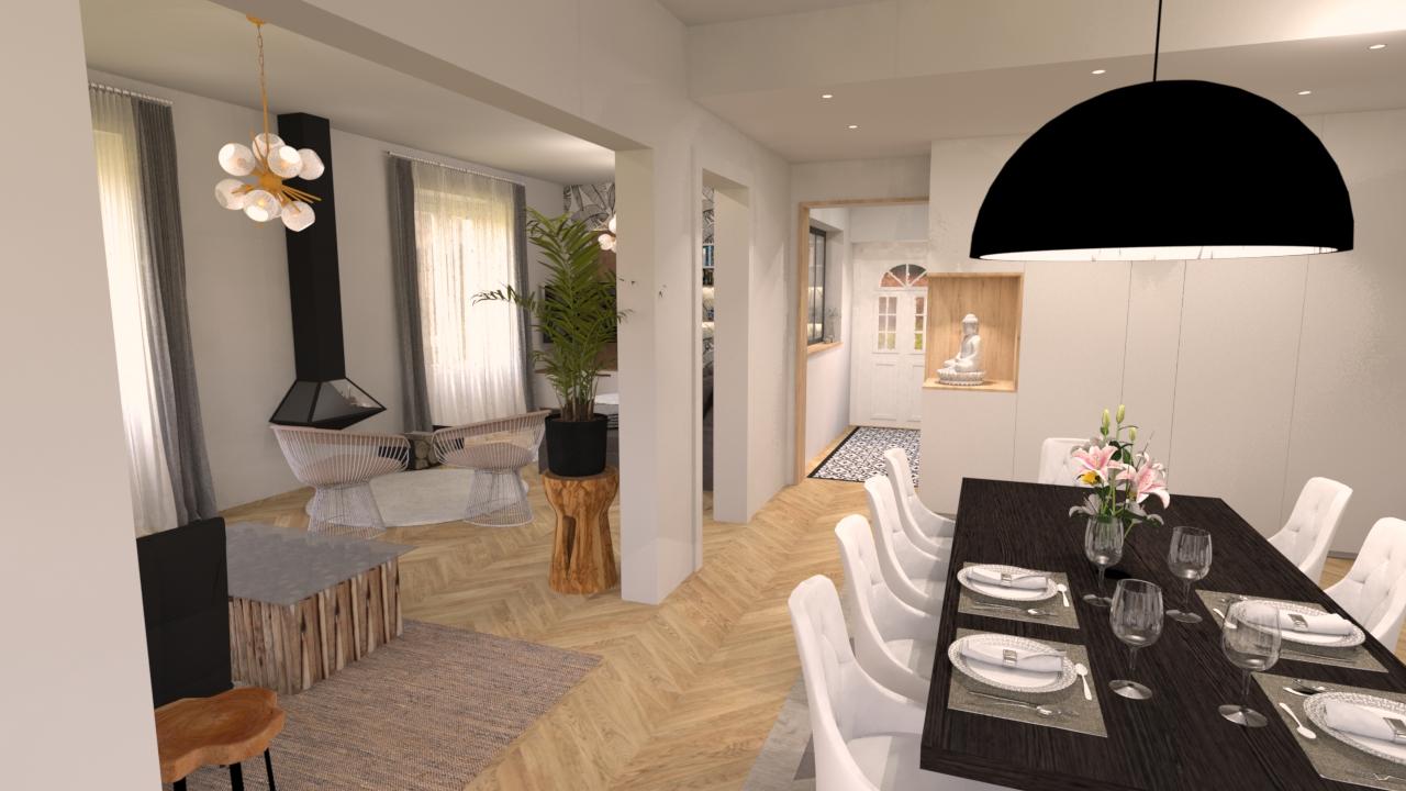 image salon salle à manger une demeure exceptionnelle