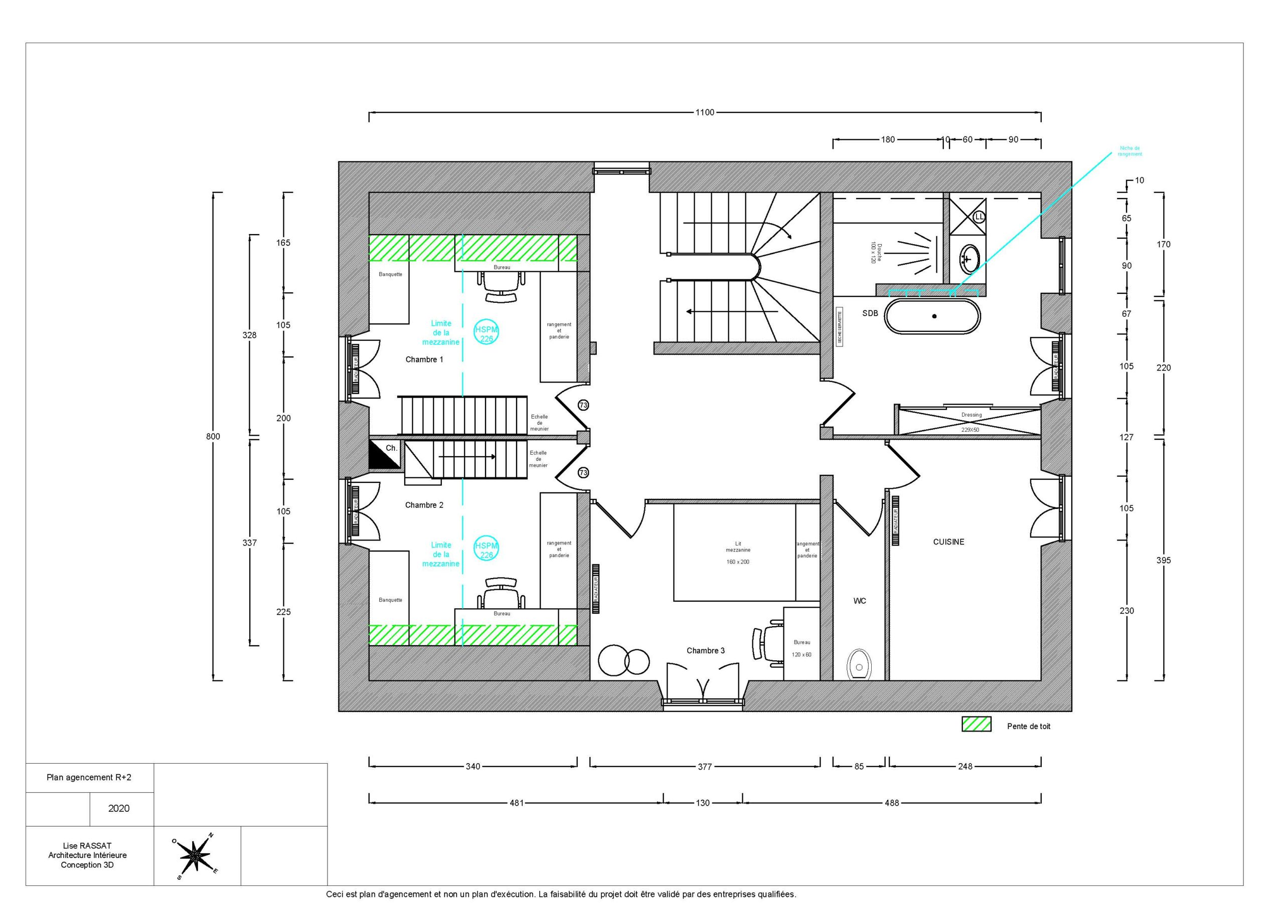 image plan deuxième étage une demeure exceptionnelle