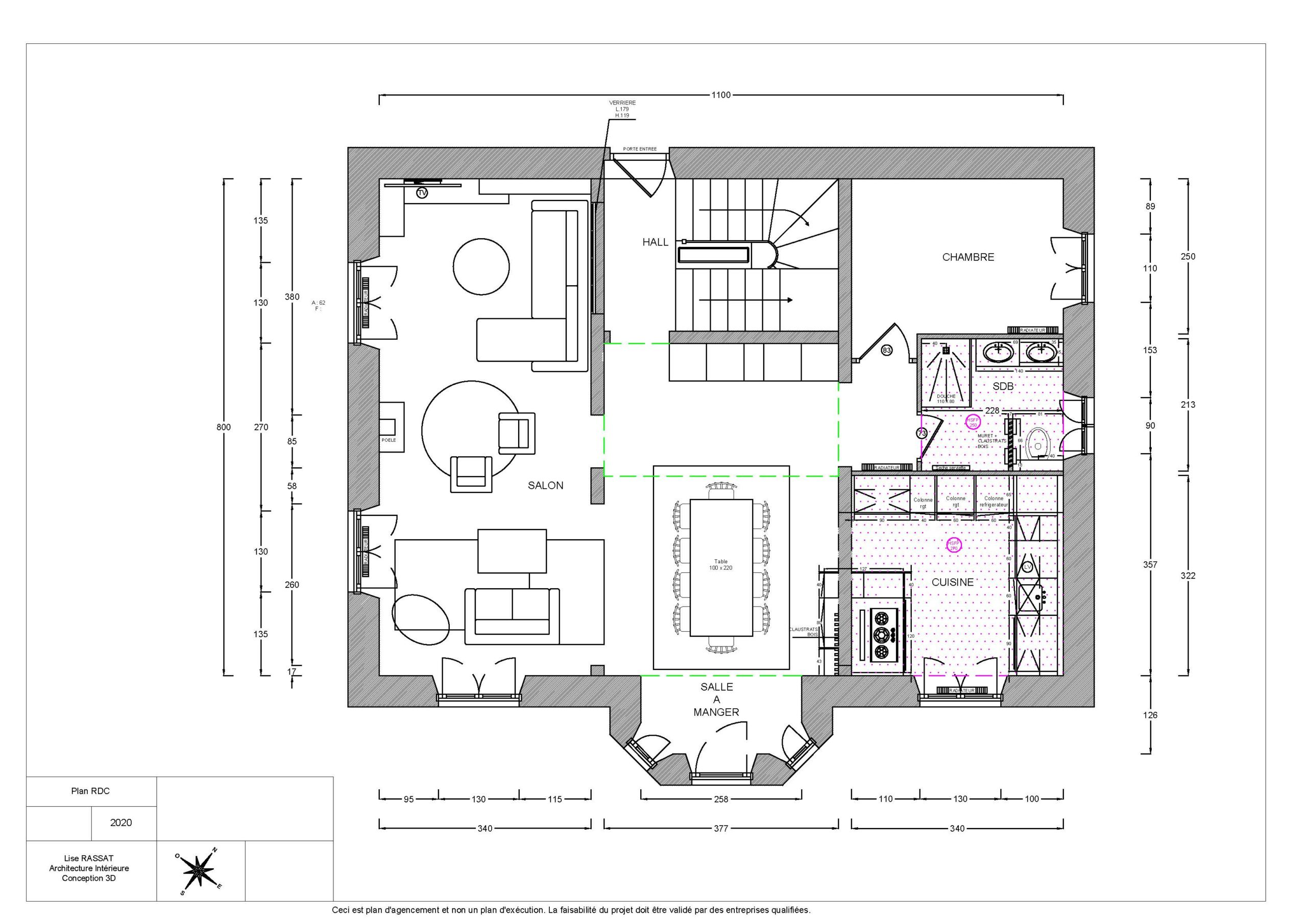 image plan rezde chaussée une demeure exceptionnelle